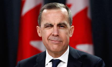 Mark Carney-Governatore della Bank of England