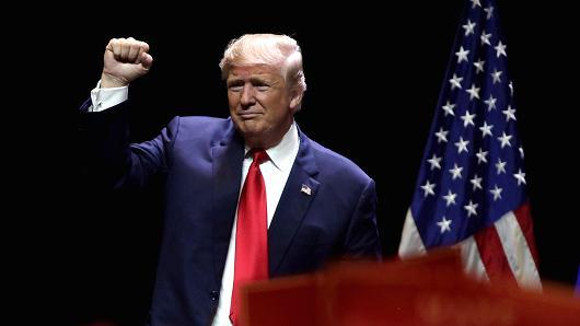 Donald Trump, il nuovo Presidente degli Stati Uniti d'America.