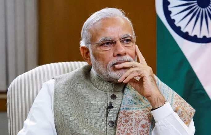 Il Primo Ministro indiano, Narendra Modi.