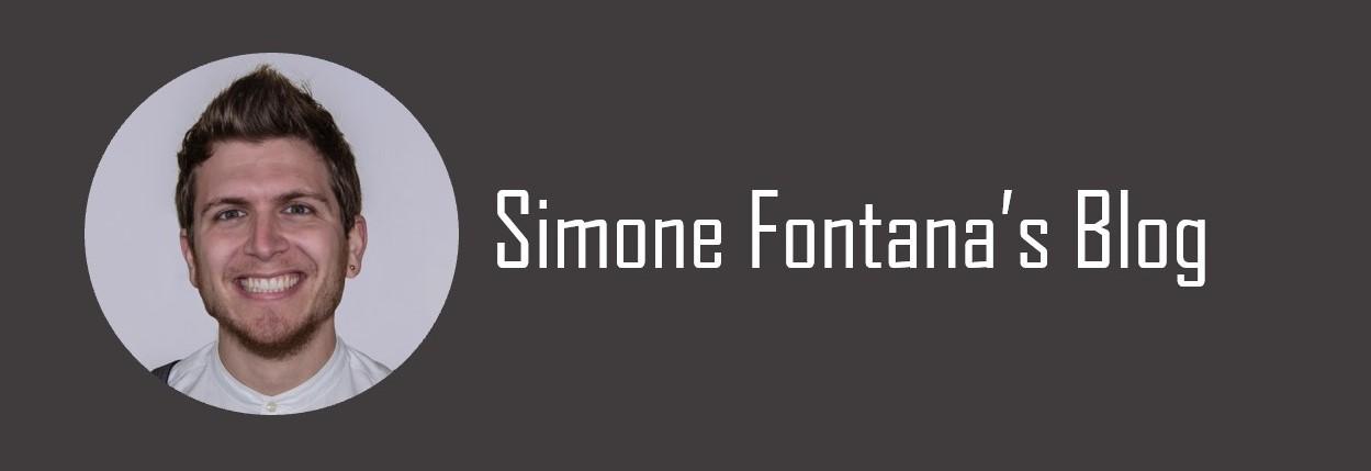 Simone Fontana's Blog