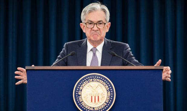 Jerome Powell, Presidente della Federal Reserve statunitense.