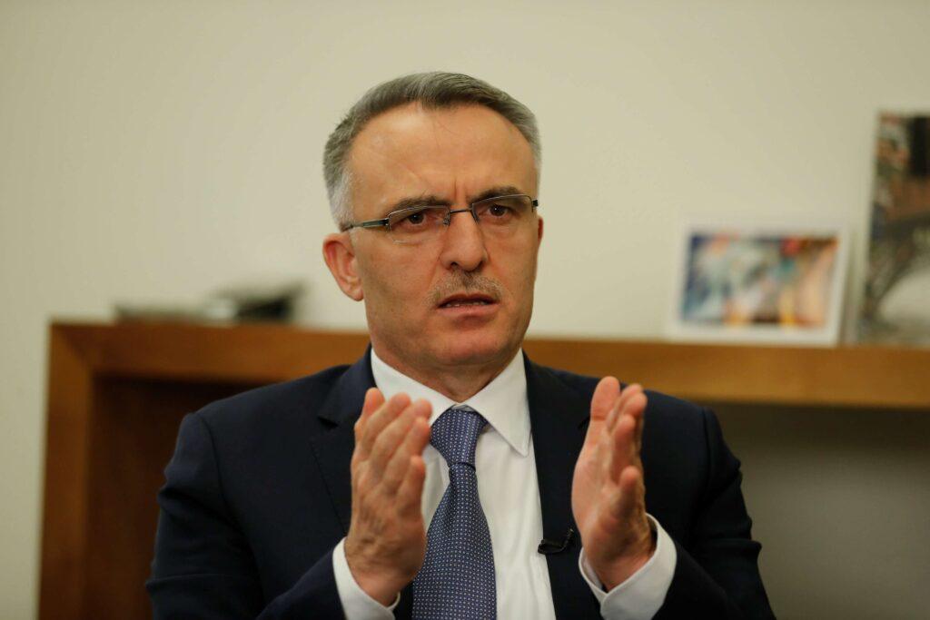 Il Governatore della Banca centrale turca, Naci Agbal.
