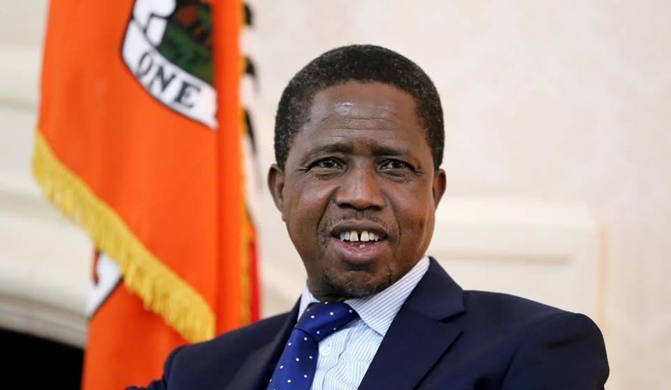 Edgar Lungu, Presidente dello Zambia.