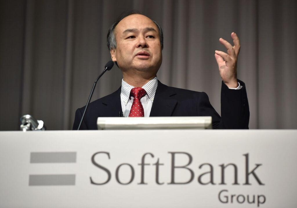 Masayoshi Son, CEO di SoftBank.